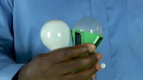 Nokero N100 - Elektrolampe mit Solarstrom