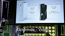 Microsoft stellt Xbox 360 Slim auf der E3 2010 vor