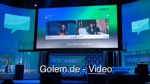 Video Kinect - Demonstration auf dem E3 Media Briefing 2010