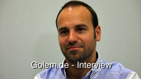 Mark-Shuttleworth-Interview auf dem Linuxtag 2010 in Berlin
