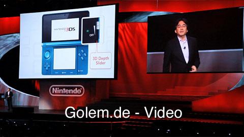 Nintendo stellt Nintendo 3DS auf der E3 2010 vor