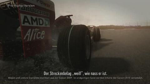 F1 2010 - Codemasters erklärt das Wettersystem
