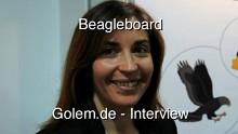 Beagleboard - Demonstration auf dem Linuxtag 2010 in Berlin