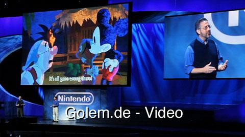 Epic Mickey - Präsentation auf der Nintendo-Pressekonferenz auf der E3 2010
