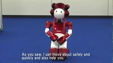 Emiew 2 - humanoider Roboter von Hitachi