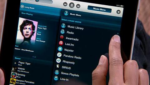 Sonos-Controller für iPad - Demonstrationsvideo