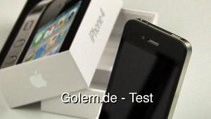 iPhone 4 - Test von Golem.de