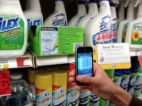 Redlaser 2.0 - iPhone-App als Barcodescanner in Aktion