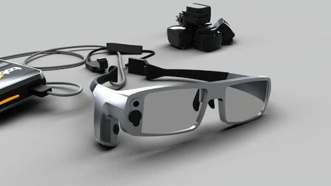 Eyetracker Glasses - Werbetrailer von Hersteller Tobii