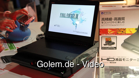 Hori PS3 HD LCD Monitor 3 - Eindrücke von der E3 2010