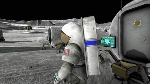 Nasa Moonbase Alpha - offizieller Trailer