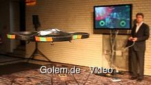 Parrot AR.Drone - Eindrücke von der Vorstellung in Berlin