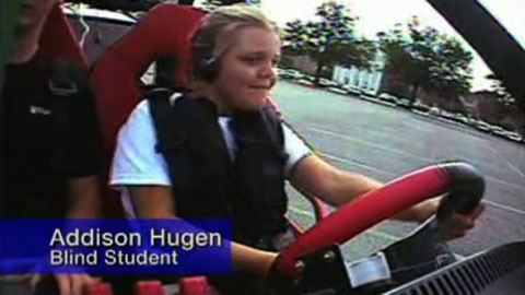Technik ermöglicht Blinden das Autofahren