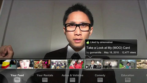 Leanback - Youtube für die Couch