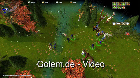 Mega Glest 3.3.5 - Eindrücke (Gameplay) von Golem.de