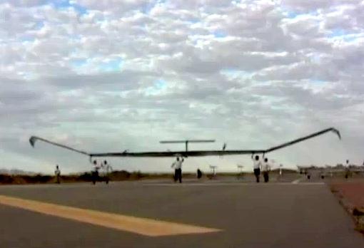 Zephyr - Start zum Rekordflug
