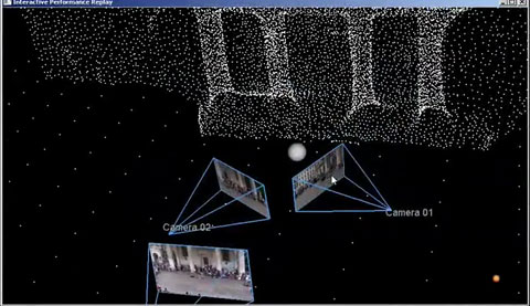 3D-Videocollage im Stil von Photosynth
