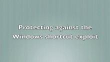 Sophos erklärt das Shortcut Exploit Protection Tool
