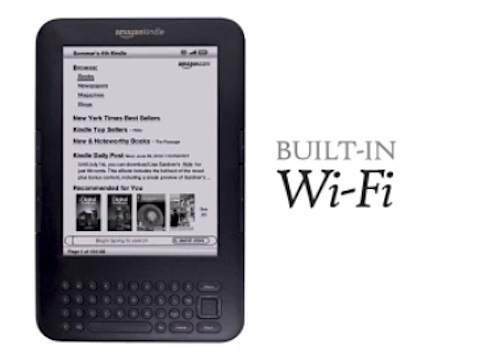 Amazon - neuer Kindle hat WLAN