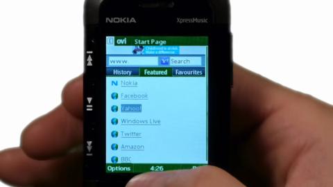Ovi Browser für S40-Handys