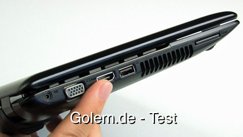 Asus EeePC 1215N - Test