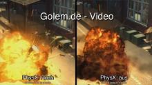 Mafia 2 - Grafik-Benchmark mit und ohne PhysX (Vergleich)
