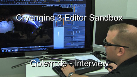 GDCE 2010 - Interview mit Sean Tracy über den Cryengine-3-Editor Sandbox