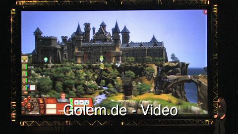 Die Sims Mittelalter - Demonstration auf der Gamescom 2010