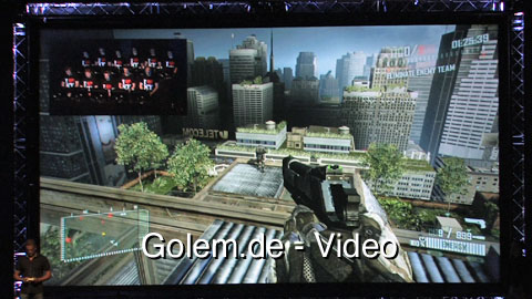 Crysis 2 - Demonstration (Gameplay) vom Multiplayer-Modus auf der Gamescom 2010