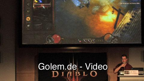 Jay Wilson stellt Handwerker für Diablo 3 auf der Gamescom 2010 vor