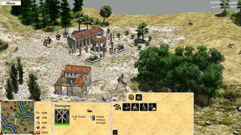 0 A.D. Alpha Gameplay Preview