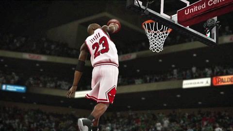 NBA 2K 11 - Michael-Air-Jordan-Teaser