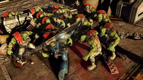 Warhammer 40K Space Marine - Trailer