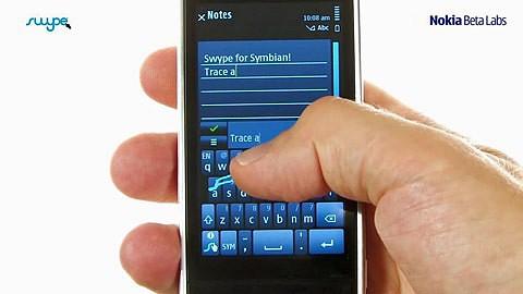Swype für Symbian
