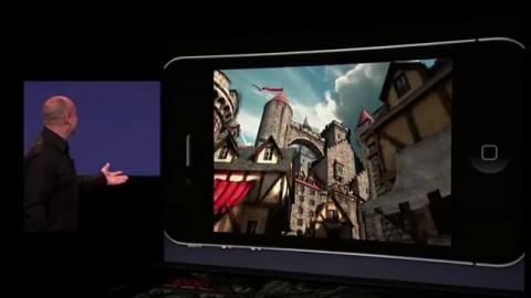 Project Sword mit Game Center - Vorstellung auf dem Apple-Event vom 1. September 2010