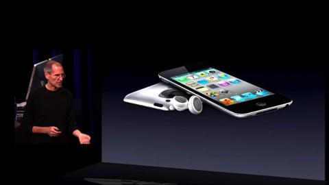 iPod touch - Vorstellung auf dem Apple-Event vom 1. September 2010