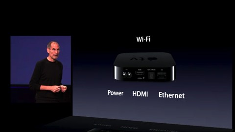 Apple TV - Vorstellung auf dem Apple-Event vom 1. September 2010