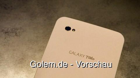 Samsung Galaxy Tab - Vorschau von der Ifa 2010