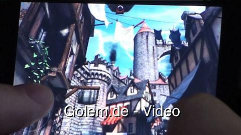 Epic Citadel - Eindrücke (Gameplay) auf dem iPhone 3GS