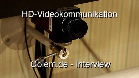 Interview mit Matthias Rose vom Fraunhofer-Institut zur Videokommunikation in HD von der Ifa 2010