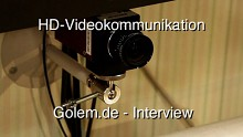Interview mit Matthias Rose vom Fraunhofer-Institut zur Videokommunikation in HD von der Ifa 2010