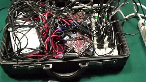 Beagleboard extrem - Rechner-Cluster aus zehn Beagleboards