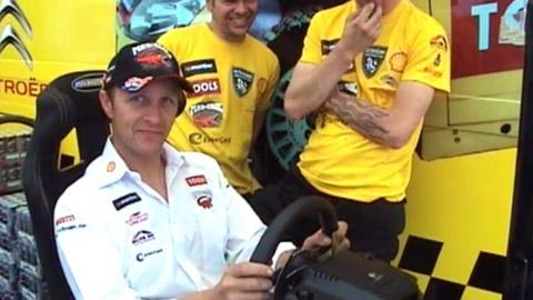 Petter Solberg testet WRC FIA World Rally Championship