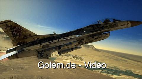 Tom Clancy's Hawx 2 - Spielszenen (Gameplay) von Golem.de