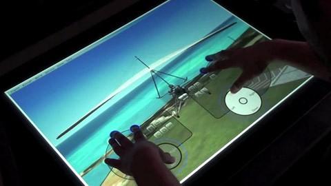 Surface-Spielesteuerung mit dem virtuellen Controller DREAM