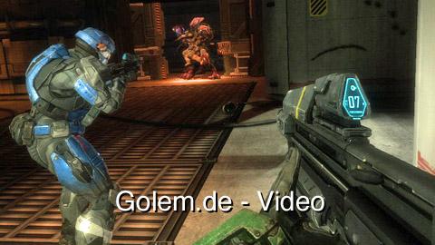 Halo Reach - Spielszenen (Gameplay) von Golem.de