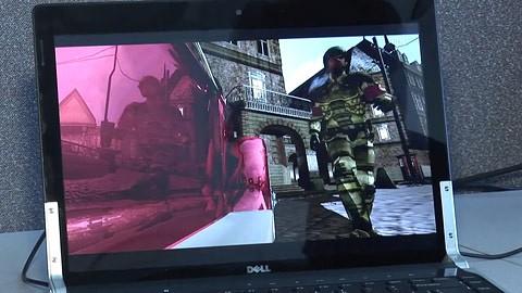 Intel zeigt Wolfenstein mit Raytracing auf Cloud-Servern