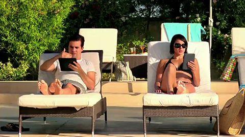 Amazons Kindle-Werbespot