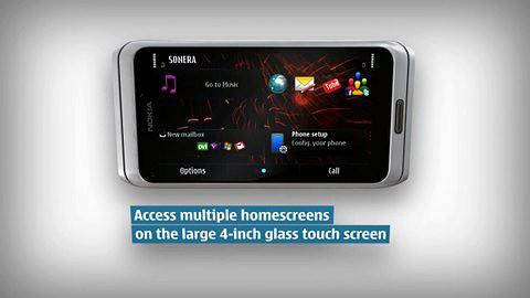 Werbefilm zum Nokia E7