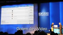 Kontextbezogenes Computing von Intel auf dem IDF 2010